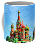 St. Basil's Cathedral Moscow Coffee Mug