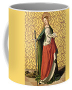 St. Catherine Of Alexandria Coffee Mug by Josse Lieferinxe
