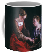 St. Cecilia And An Angel Coffee Mug by Granger