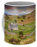 St Celynnin Church Sunset Coffee Mug