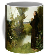 St. Francis Coffee Mug by Albert Chevallier Tayler