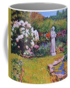 St. Francis In The Garden Coffee Mug
