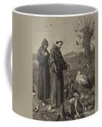 St Francis Preaches To The Birds  Coffee Mug