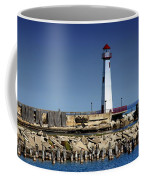 St. Ignace Lighthouse Coffee Mug