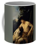 St John The Baptist In The Wilderness 1625 Coffee Mug