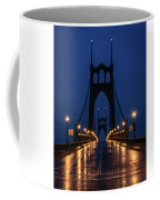 St Johns Bridge Shine Coffee Mug