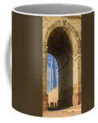 St Louis Arch And Eads Bridge   Coffee Mug