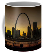 St Louis Arch At Sunset Coffee Mug