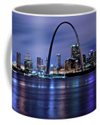 St Louis Black N Blue Coffee Mug