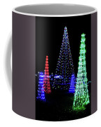St Louis Botanical Gardens Christmas Lights Study 4 Coffee Mug