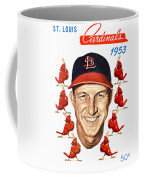 St. Louis Cardinals 1953 Yearbook Coffee Mug