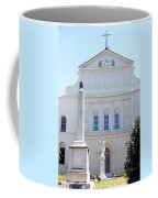 St. Louis Cathedral Back Lawn Coffee Mug