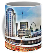 St Louis Skyline Coffee Mug