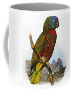 St Lucia Amazon Parrot Coffee Mug