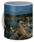 St. Lucia In The Evening Coffee Mug