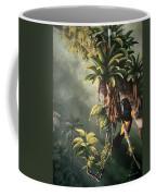 St. Lucia Oriole In Bromeliads Coffee Mug