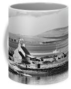 St. Margarets Hope, Orkney.    Black And White Coffee Mug
