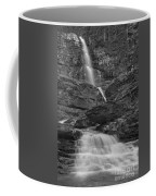 St Mary Triple Cascades - Black And White Coffee Mug
