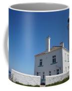 St. Mary's Island And The Lighthouse. Coffee Mug