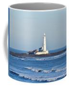St Mary's Lighthouse Whitley Bay Coffee Mug