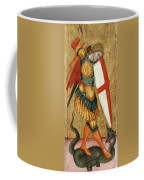 St Michael And The Dragon Coffee Mug