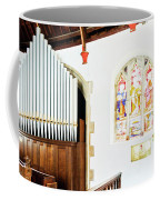 St Mylor Organ Pipes Coffee Mug