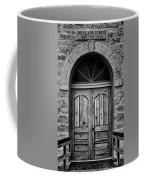St Olafs Church Door Coffee Mug