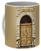 St Olafs Kirke Door Coffee Mug