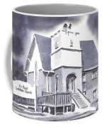 St Paul Lutheran With Ink Coffee Mug