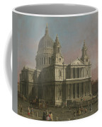 St. Paul's Cathedral Coffee Mug by Giovanni Antonio Canaletto