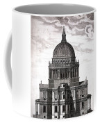 St. Pauls Drawn By Christopher Wren Coffee Mug
