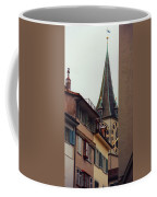 St. Peter Tower Zurich Switzerland Coffee Mug by Susanne Van Hulst