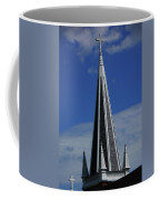 St. Peter's Roman Catholic Church's Steeple In Harpers Ferry Coffee Mug