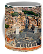St Peter's Square Coffee Mug