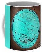 St Petersburg Manhole Coffee Mug