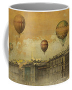 St Petersburg With Air Baloons Coffee Mug