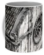 St. Saviour Church Window - Black And White Coffee Mug