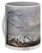 St. Thomas: Hurricane, 1819 Coffee Mug