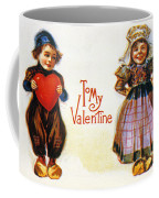St. Valentines Day Card Coffee Mug