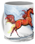 Staceys Arabian Horse Coffee Mug
