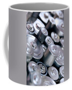 Stack Of Batteries Coffee Mug