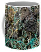 Stacked Crab Traps Coffee Mug