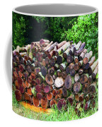 Stacked Firewood Coffee Mug