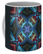 Stacked Kaleidoscope Coffee Mug