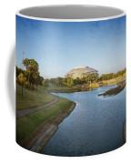 Stadium And Park Panorama Bleach Bypass Coffee Mug