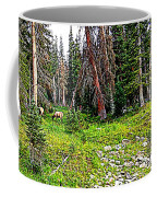 Stag Forest Coffee Mug