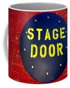 Stage Door Coffee Mug