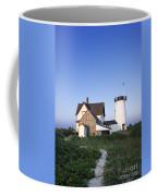 Stage Harbor Lighthouse Coffee Mug