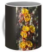 Staghorn Cholla Blossoms Coffee Mug