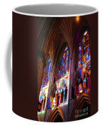 Stain Glass Cathedral Coffee Mug